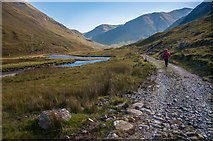 NG9918 : Track in Gleann Lichd by Tom Richardson