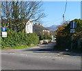 SH5371 : Access road to Plas Llanfair and Plas Villas, Llanfairpwll by Jaggery