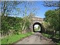 NS3840 : Dalry to Kilmarnock railway by Richard Webb