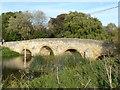 TL0692 : Old stone bridge in Fotheringhay by Richard Humphrey