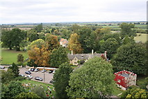 SP7006 : View west from top of St Mary's Church tower by Roger Templeman