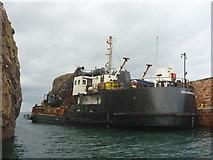NT6779 : Coastal East Lothian ; MV Shearwater at Victoria Harbour, Dunbar by Richard West