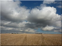 SK7059 : Sunshine and clouds by Peter Barr