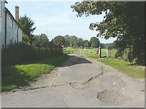 TR1955 : The entrance to the recreation ground by John Baker