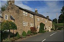 SK3463 : Cottages on Hillside by Graham Hogg