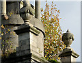 J4173 : The Cleland Mausoleum, Dundonald (detail) (1) by Albert Bridge
