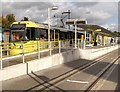SJ9399 : Metrolink Tram at Ashton by David Dixon