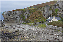 NG5113 : House by the beach, Elgol by Nigel Brown