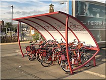 SD8912 : Bike and Go, Rochdale Station by David Dixon