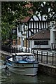SK9771 : The River Witham, Lincoln by Dave Hitchborne