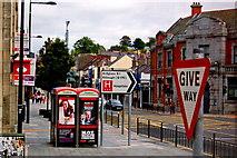 J4844 : Downpatrick - Market Street (A25) by Joseph Mischyshyn