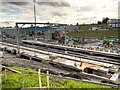 SD8500 : Metrolink Construction at Queens Road by David Dixon