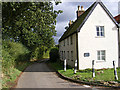 TM1042 : Pigeon's Lane & Primrose Cottage by Adrian Cable