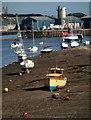 SX9372 : Boat on the Salty by Derek Harper
