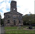 SJ6511 : West side of All Saints Church, Wellington by Jaggery