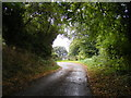 TM1042 : Church Lane, Washbrook by Adrian Cable