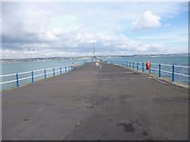 SY6878 : Weymouth, South Pier by Mike Faherty