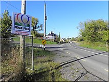 G9810 : No fracking notice County Leitrim by Kenneth  Allen