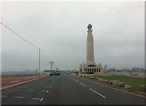 SZ6398 : Clarence Esplanade passes The Royal Naval War Memorial by Stuart Logan