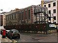 TQ2880 : Crossrail works, Hanover Square by Julian Osley