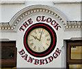 J1245 : Jeweller's clock, Banbridge by Albert Bridge