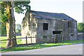 SD7880 : Barn beside Blea Moor Road at Far Gearstones by Roger Templeman