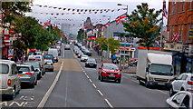J3274 : Belfast - Shankill Road - Protestant area by Joseph Mischyshyn