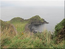 C9444 : The Great Stookan and the access road to the Giant's Causeway by Eric Jones