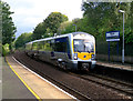J3373 : Train, Botanic Station Belfast by Rossographer
