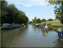 SU2763 : Moorings on the Kennet & Avon canal by Christine Johnstone