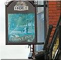 SJ8798 : Grove Inn Sign (West face) by Gerald England