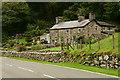 SH5944 : Nant-dwr-oer, Gwynedd by Peter Trimming
