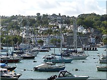 SX8751 : View across Dartmouth Harbour from the Paignton - Kingswear train by Derek Voller