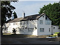 SJ3849 : The Red Wither Inn (closed), Wrexham Industrial Estate by Jeff Buck