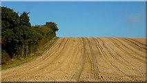 SO9271 : Stubble field in autumn, 1 by Jonathan Billinger