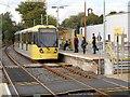 SD8401 : Metrolink Tram at Abraham Moss by David Dixon