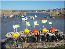 SW5130 : St. Michael's Mount: the harbour by Chris Downer