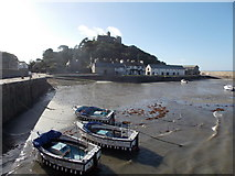 SW5130 : St. Michael's Mount: the Mount from the harbour by Chris Downer