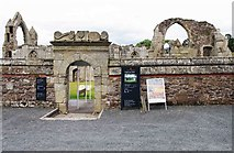 SJ5415 : Entrance to the ruined Haughmond Abbey, near Haughton, Shrops by P L Chadwick