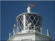 SW7011 : The Lizard: lighthouse close-up by Chris Downer