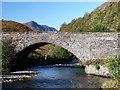 NG9913 : The old bridge at Glenshiel by sylvia duckworth