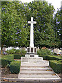 TL8741 : War Memorial by Adrian Cable