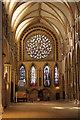 SK9771 : South transept by Richard Croft