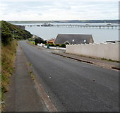 SM8804 : Coastal view from Gelliswick Road, Milford Haven by Jaggery