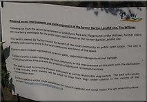 SX9066 : Notice about Barton landfill site by Derek Harper