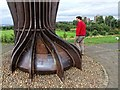 NZ2657 : Angel of the North, near Lamesley by Dave Hitchborne