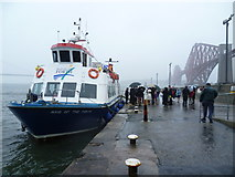 NT1378 : Maid of the Forth at the Hawes Pier by kim traynor