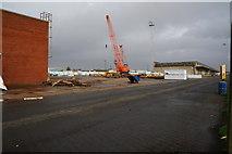 TA0827 : A crane on Albert Dock, Hull by Ian S