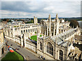 SP5106 : All Souls College, Oxford by John Allan