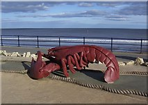 TA1280 : Lobster on the Promenade, Filey - 1 by Terry Robinson